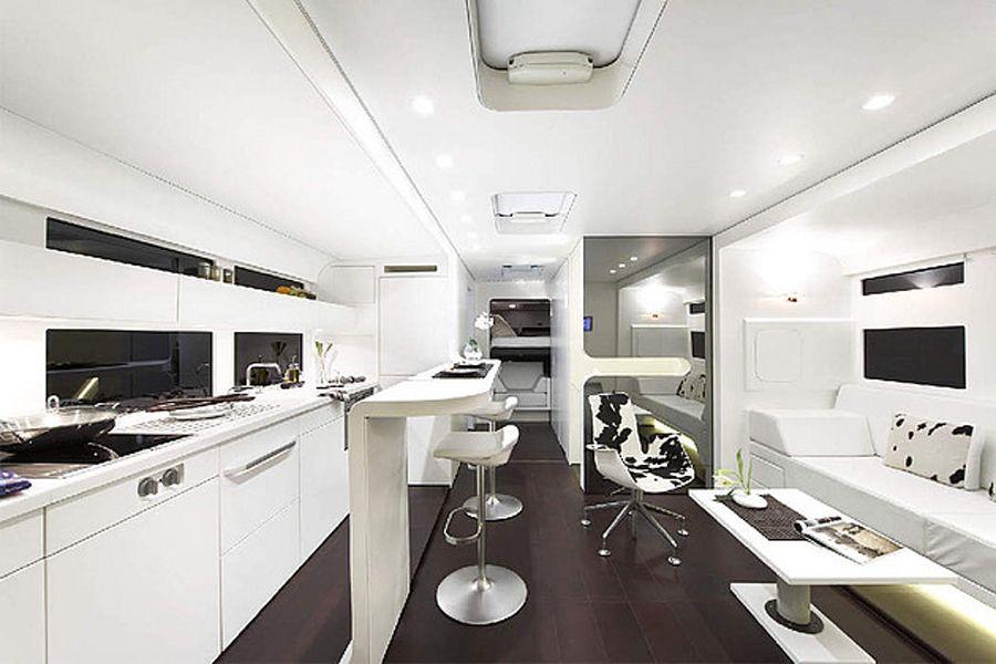 Mercedes benz ketterer continental rv kitchen design for Camper kitchen designs