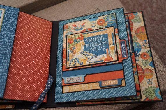 6 1/2 x 8 World's Fair Graphic 45 Mini Album