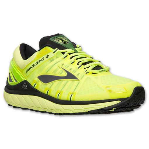 Lime punch · Men's Brooks Transcend 2 Running Shoes ...