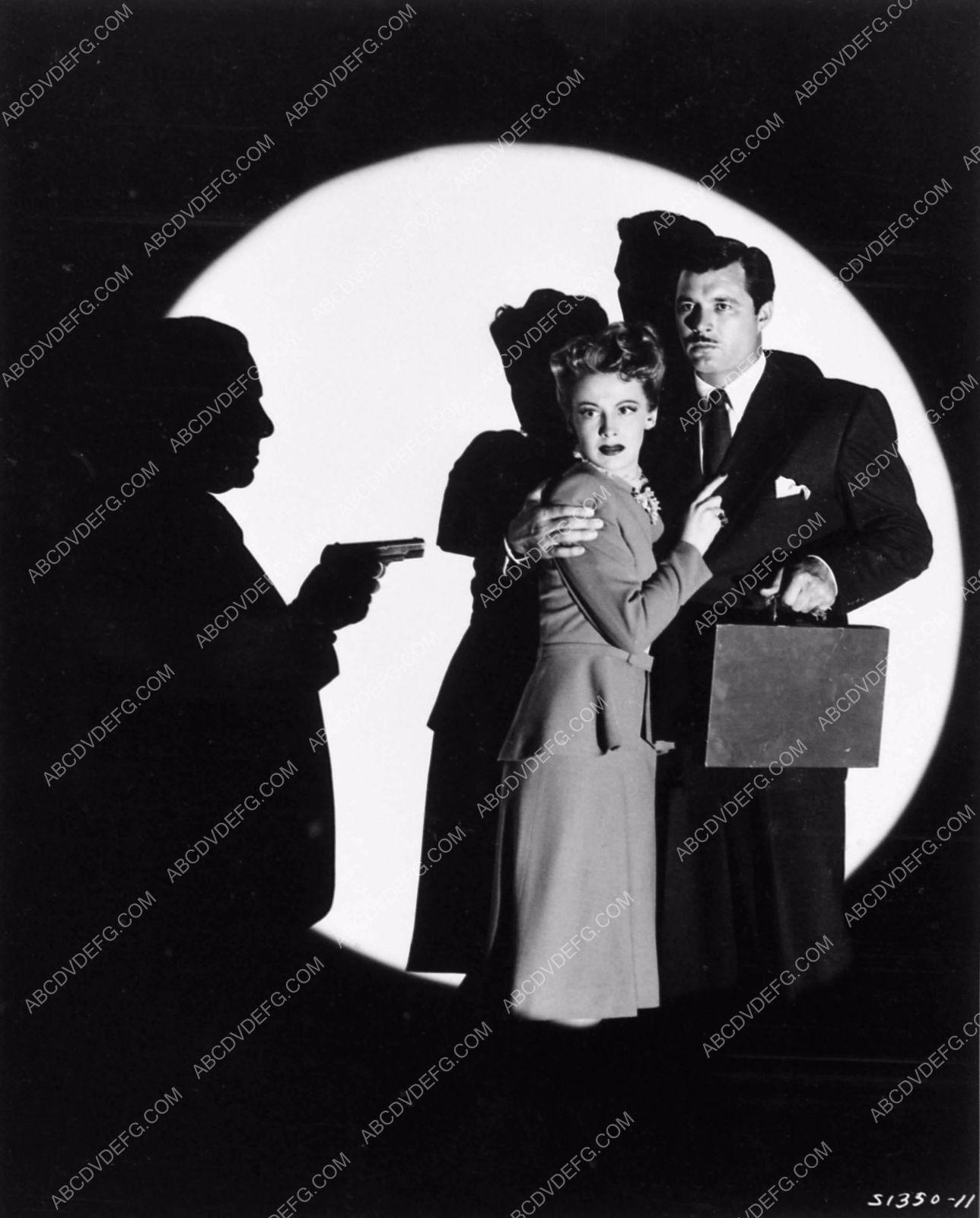 photo Signe Hasso James Craig cool shadow film noir Dangerous Partners 1551-13