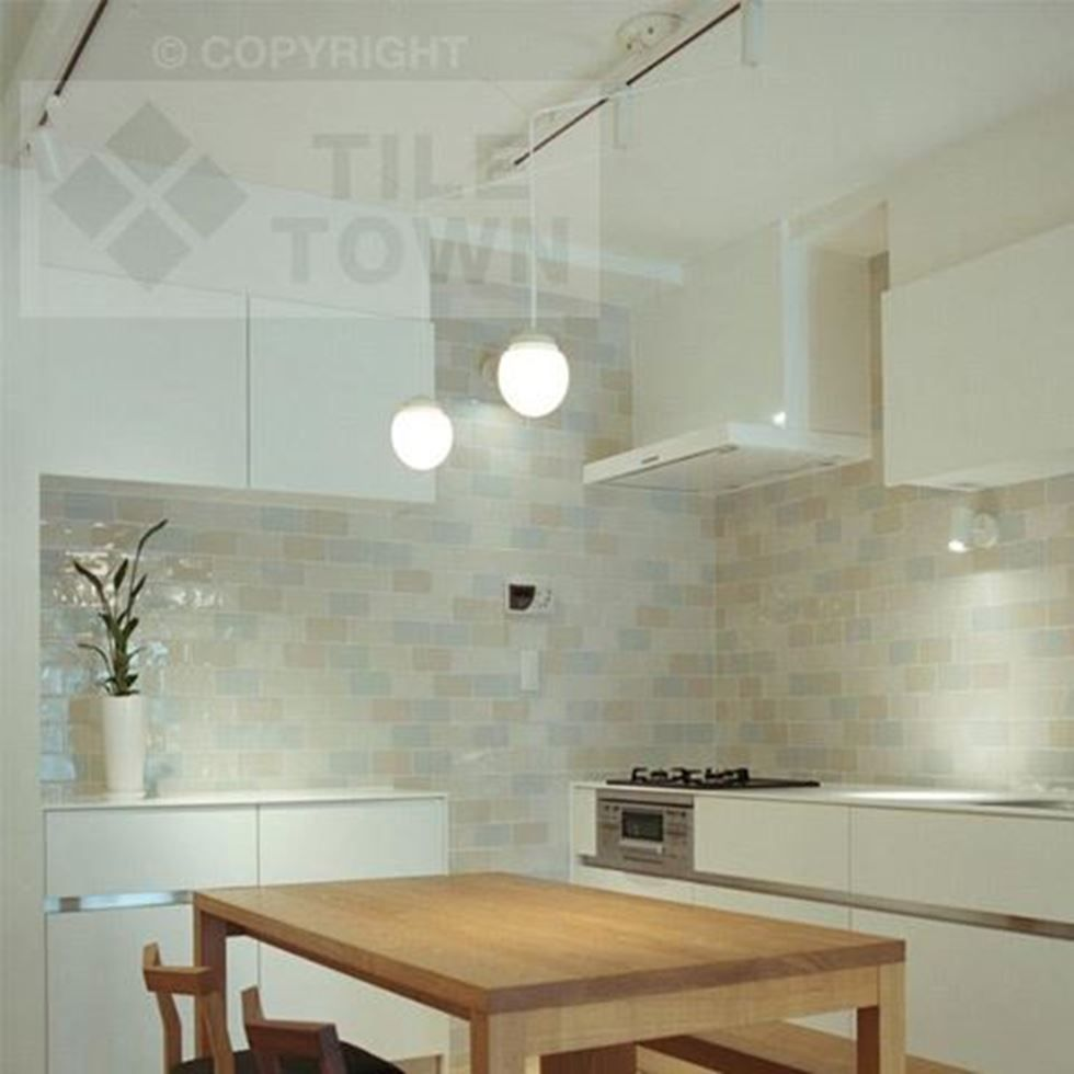 Craquele Mix Kitchen Wall Tile Craquele Mix offers unique beauty and ...