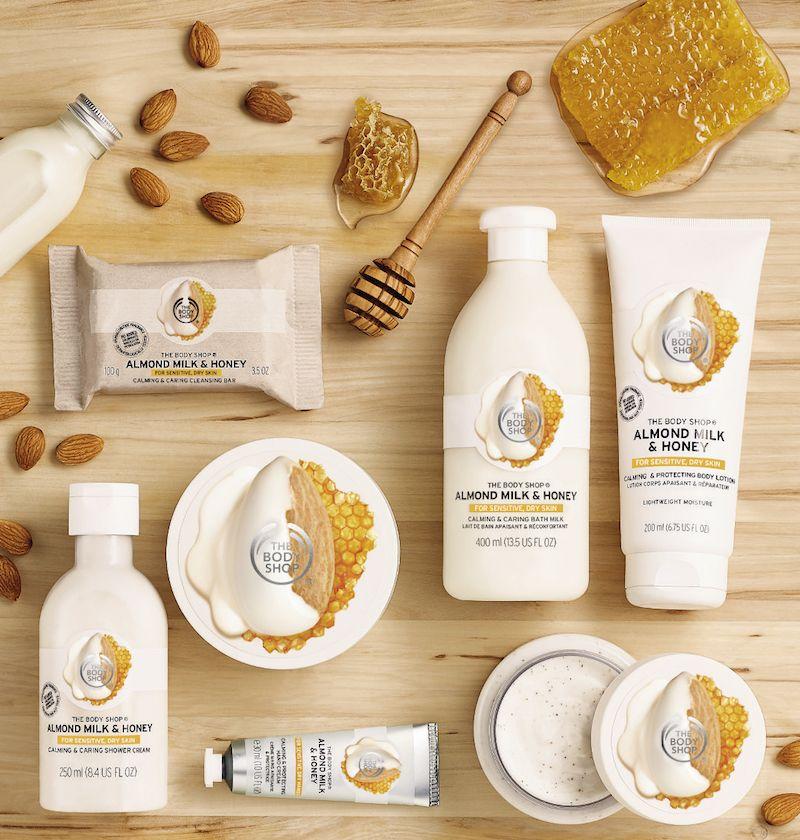 The Body Shop Almond Milk The Body Shop Body Shop Skincare Body Shop At Home