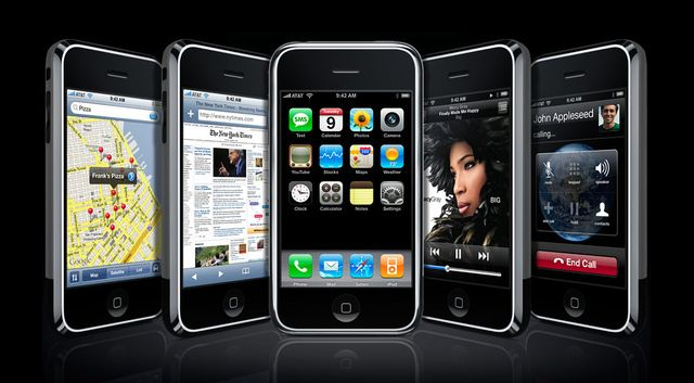 1st Generation iPhone (2007) - Say hello to iPhone.