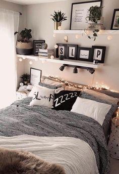 #modernbedroom modernes Dekor Schlafzimmer, modernes Vintage Schlafzimmer, Zimmerideen modern ... - Welcome to Blog