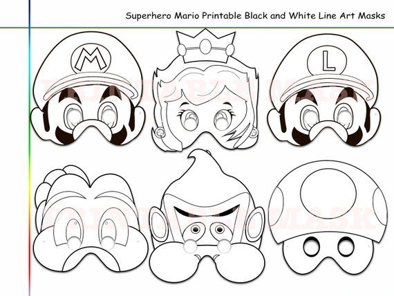 Coloring Pages Magic Hero Printable Black and White Line ...