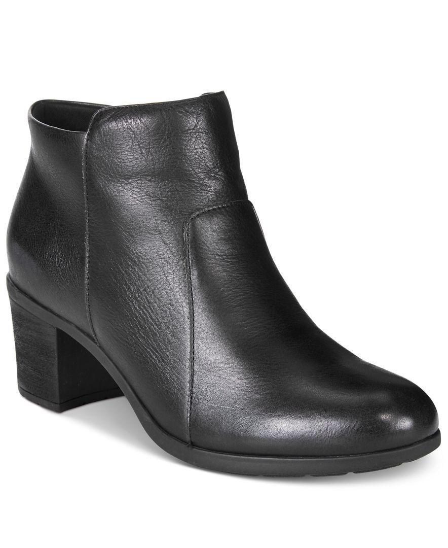 Easy Spirit Billian Block-Heel Ankle Booties