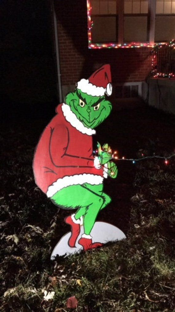 Grinch Outdoor Christmas Decorations Valoblogi Com