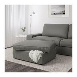 ikea kivik hocker mit aufbewahrung hillared dunkelblau ger umige aufbewahrung unter der. Black Bedroom Furniture Sets. Home Design Ideas