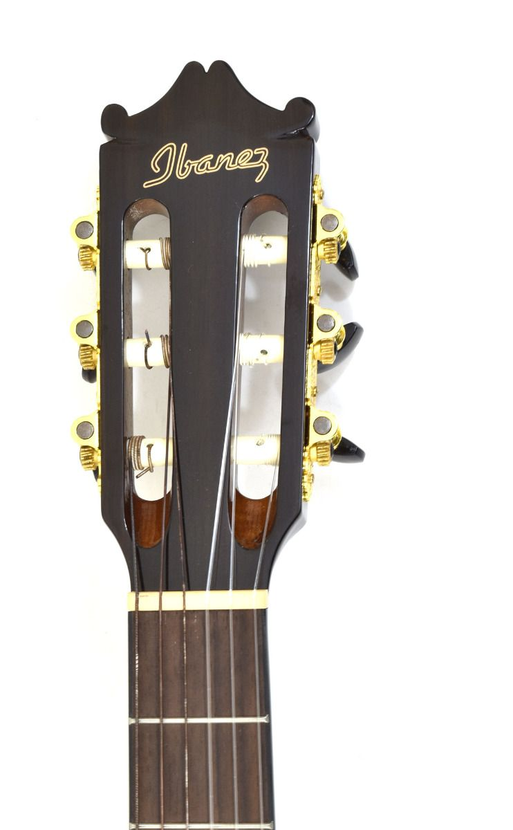 Ibanez Ga35tce Thinline Classical Acoustic Electric Guitar Dark Violin Sunburst B Stock 1408 Acoustic Electric Acoustic Electric Guitar Acoustic