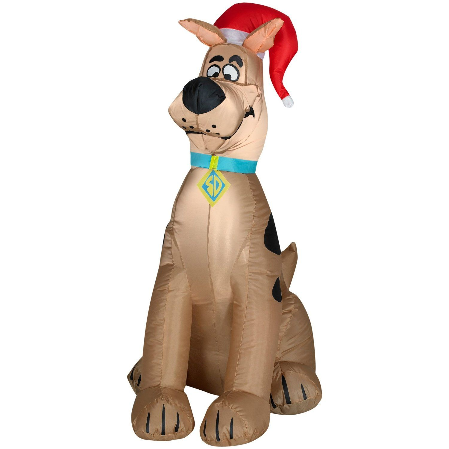 Gemmy inflatable airblown reindeer outdoor christmas decoration lowe - Airblown Scooby Doo Available At These Retailers Kmart Christmas Lawn Decorations