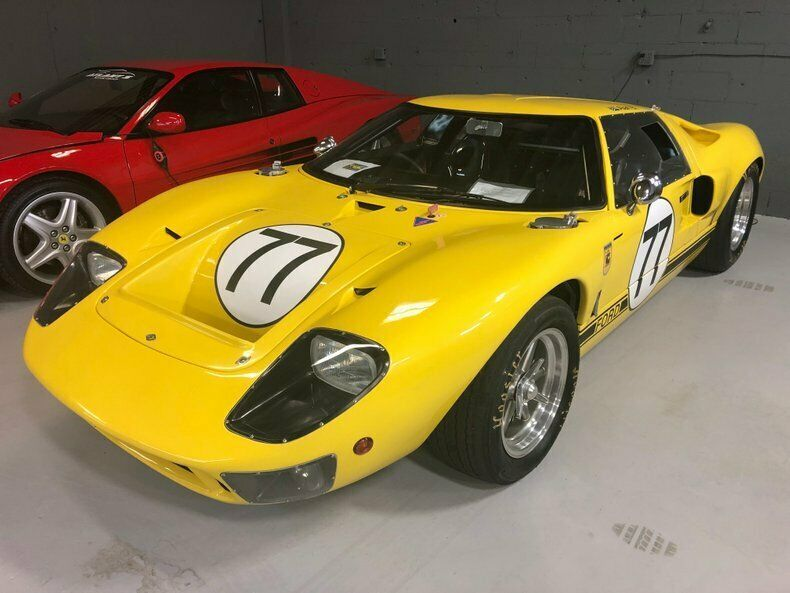 Ebay Advertisement 1966 Ford Gt 1966 Ford Gt40 0 Yellow Ford Gt40 Ford Gt Ford Gt40 For Sale