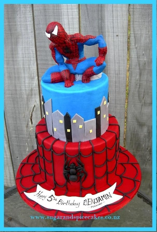 Spiderman Spiderman Cakes Cake Decorating Daily Inspiration
