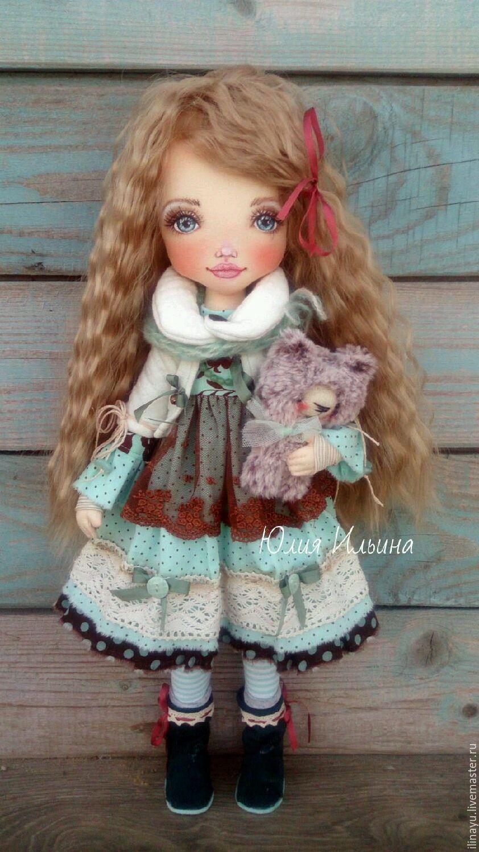 Купить Кукла. - кукла ручной работы, кукла интерьерная, кукла в подарок, хлопок 100%