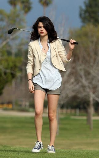Selena Gomez - Casual Outfits 2011