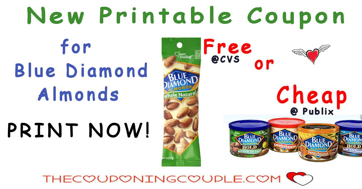 Free And Cheap Blue Diamond Almonds With New Printable Store Ads