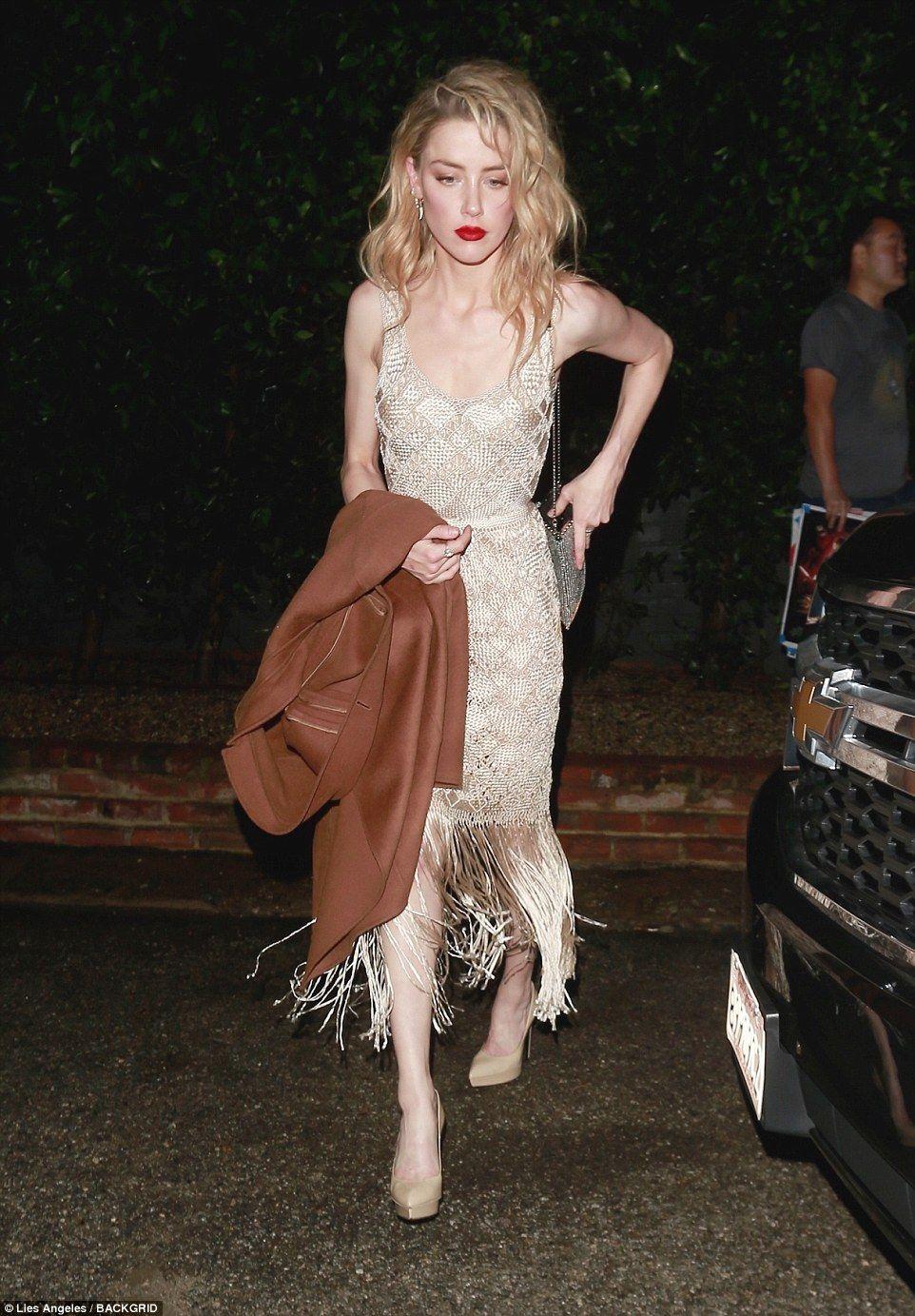 Una Fantasía De Lujo La Actriz Amber Heard Siguió La Tendencia