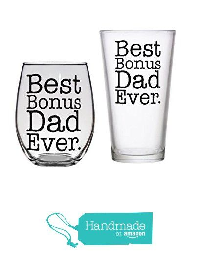Best Step Dad Ever Stepdad Gift Birthday Present Beer Mug Wine Glass Bonus