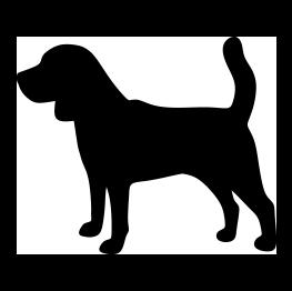 Dog Silhouettes Dog Stencil Animal Silhouette Dog Silhouette