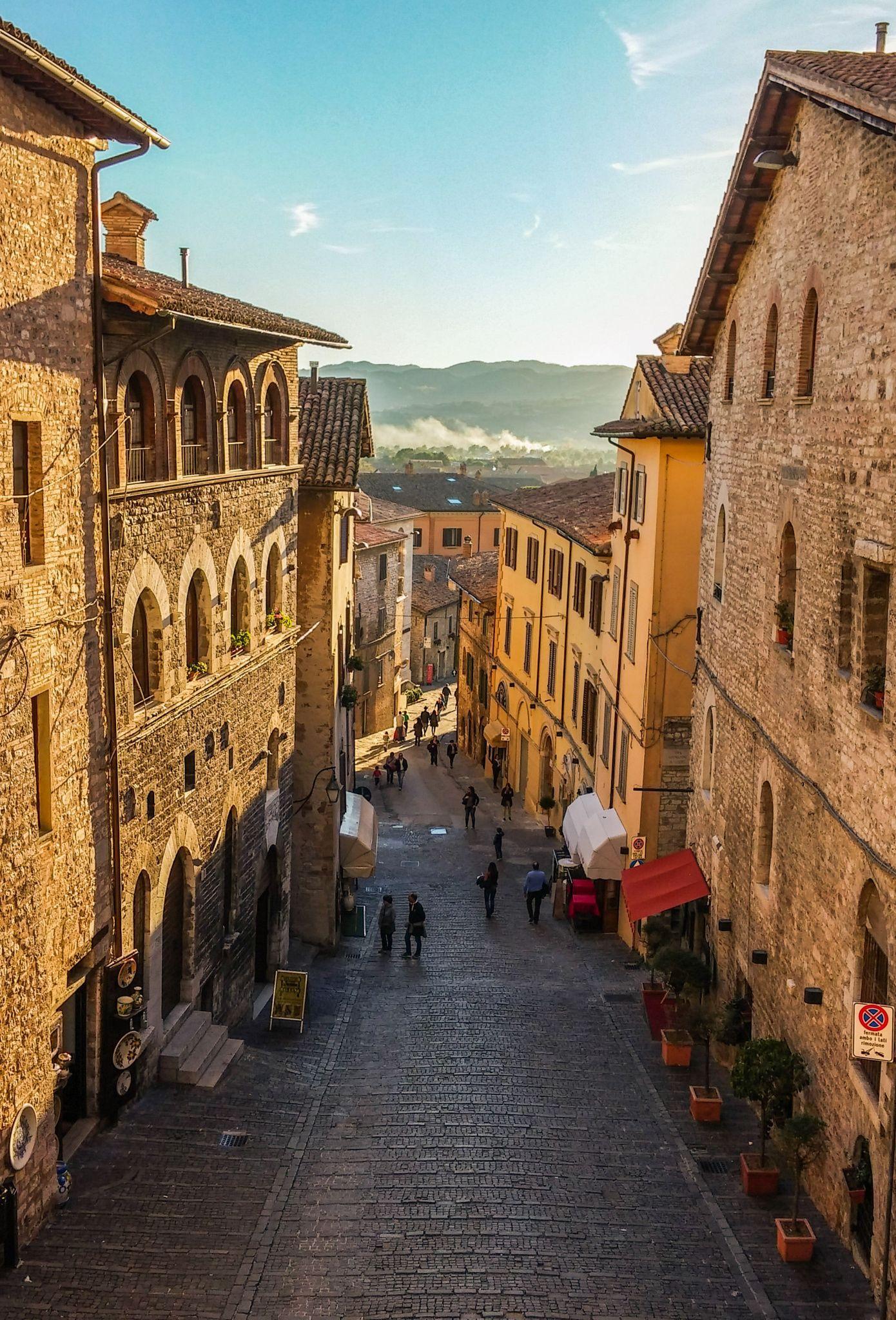 Gubbio, Province of Perugia, Umbria Region_ Italy Umbria