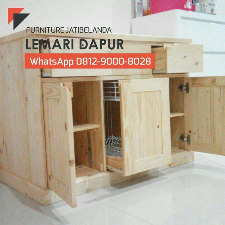 Lemari Dapur (Dengan gambar) | Lemari dapur, Lemari, Desain