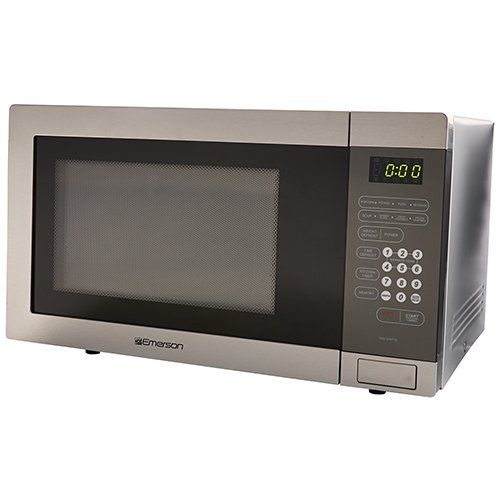 Cheap Emerson Stainless Steel Microwave With Images Stainless
