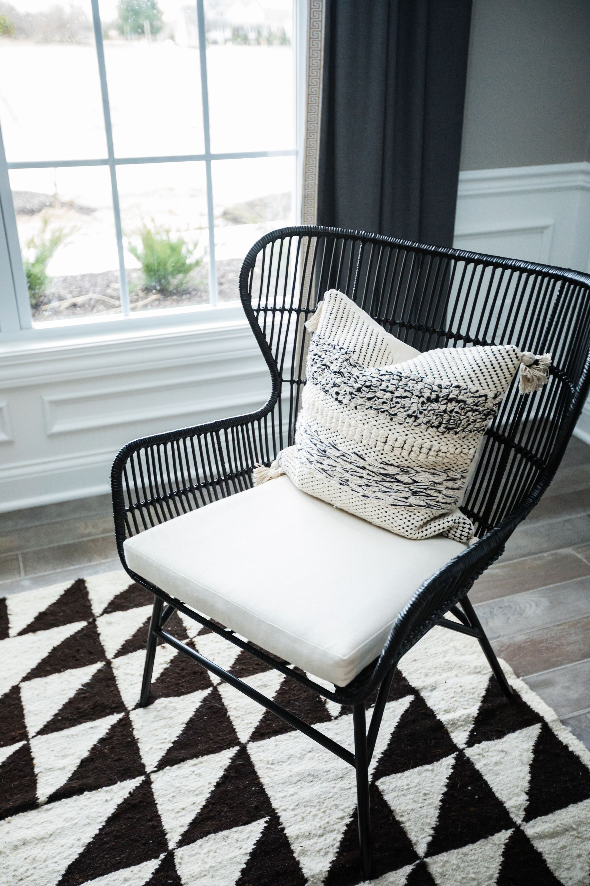 A Modern Home with Cohesive Design in 2020   White wicker ...