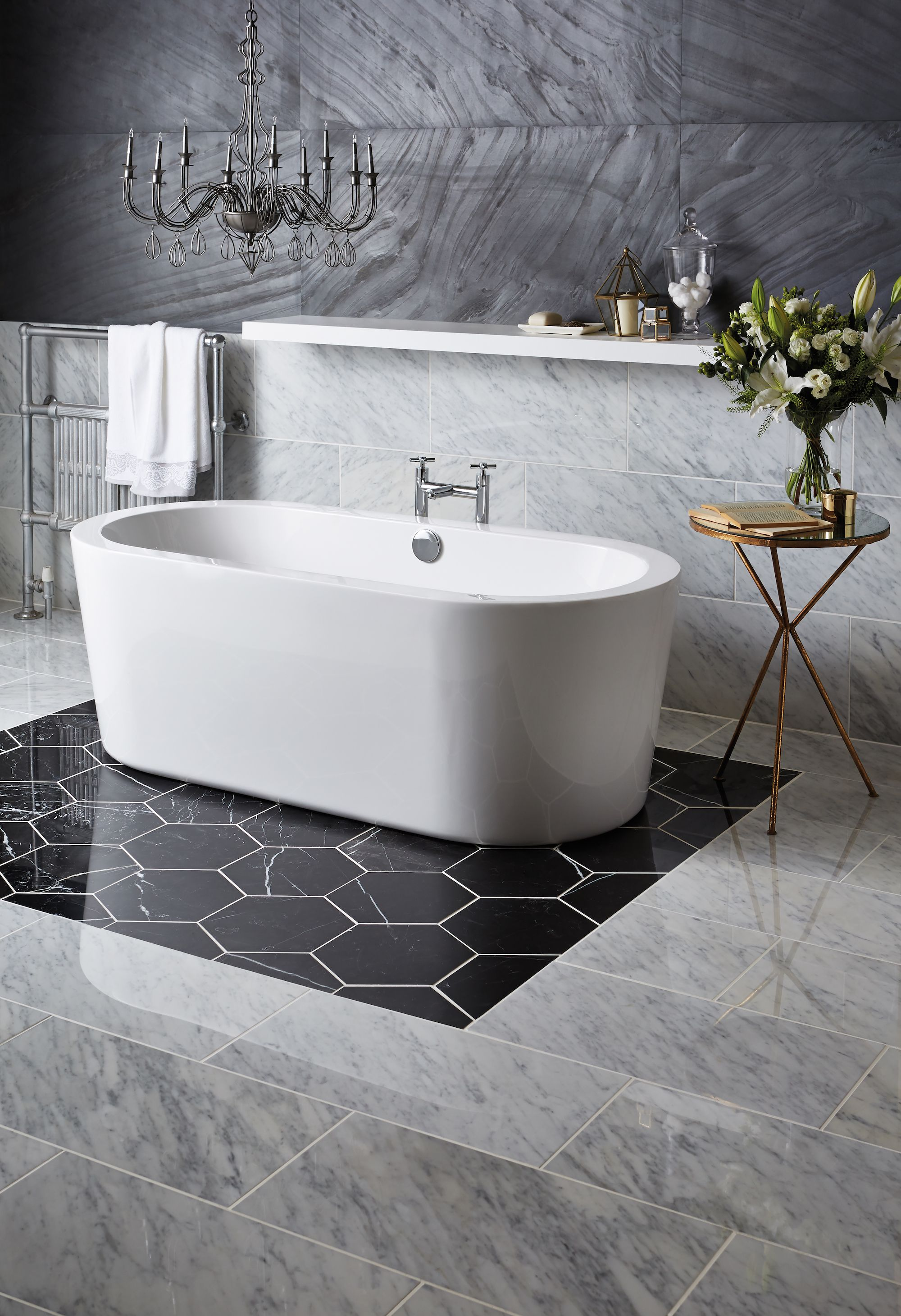tile and performance hexagonal astonish tiles aesthetic you ideas high that traditional combined pin in hexagon bathroom will large technology shower with