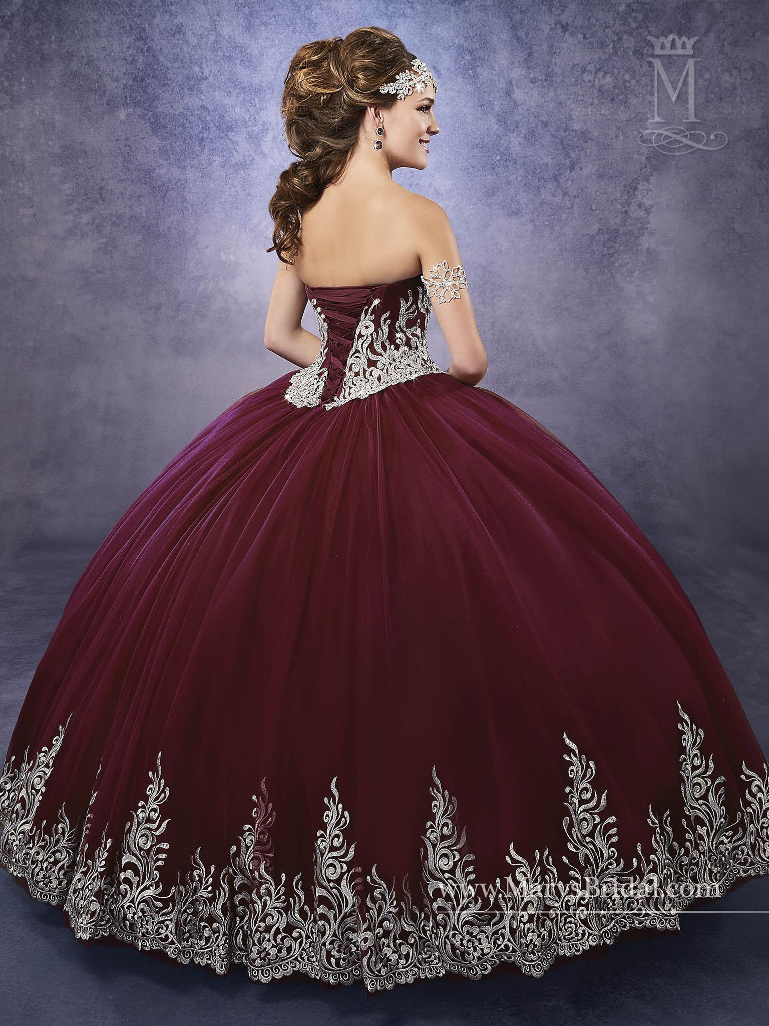 a7ada3ee19 Sublime 50+ Burgundy Quinceanera Themes https   fazhion.co 2017