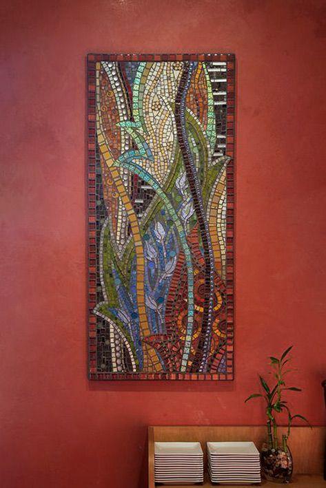 Abstract mosaic wall art – thenatureofmosaic Gretchen ...
