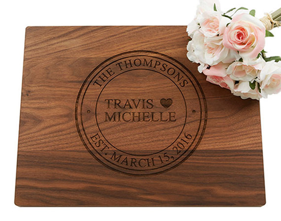 our personalized cutting boards are custom engraved keepsakes they