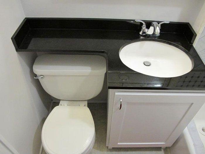 38 Functional Small Bathroom Storage Ideas Small Bathroom Sinks
