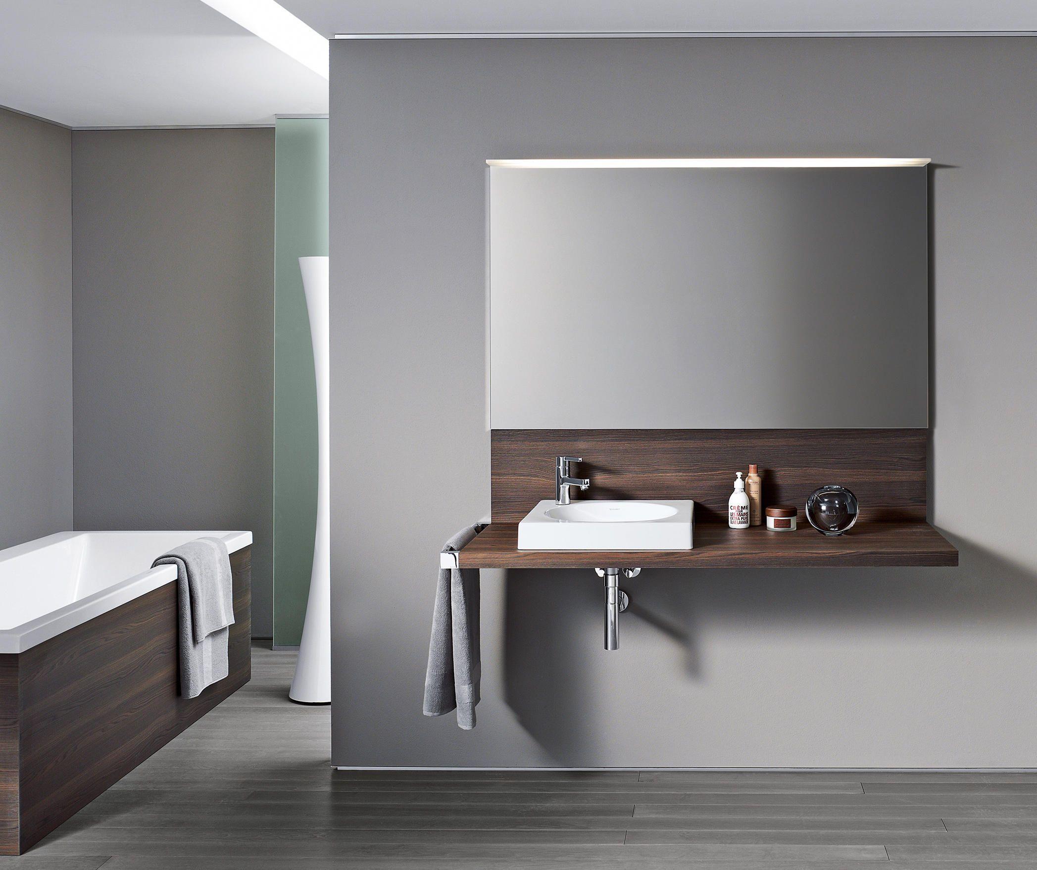 Designer Vanity Units For Bathroom Unique Delos Console With Back Panel  Designer Vanity Units From Duravit Design Decoration