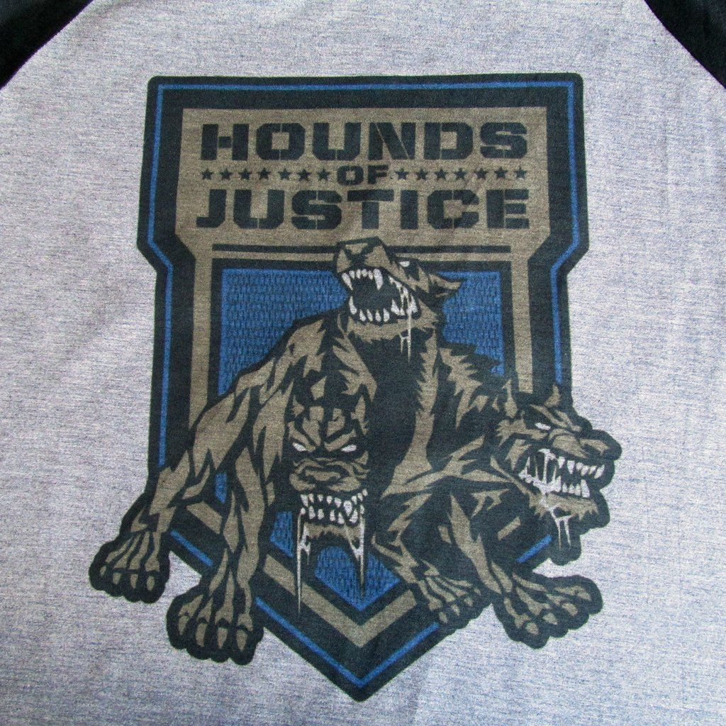 8a82e0710 Camiseta WWE Hound of justice Roman Reigns Wrestling