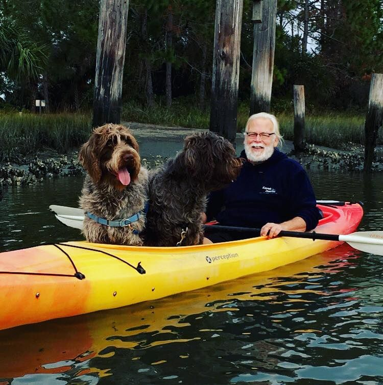 How To Kayak With Two Big Dogs Grab A Tandem Kayak Slide The