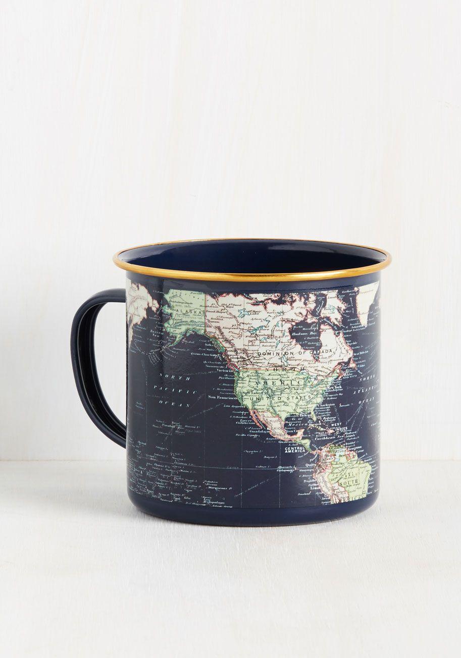Locate and Percolate Mug - Multi, Print, Global, Graduation, Travel, Nifty Nerd…