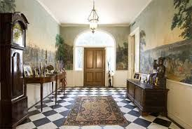 Image result for black and white floor tiles front entrance