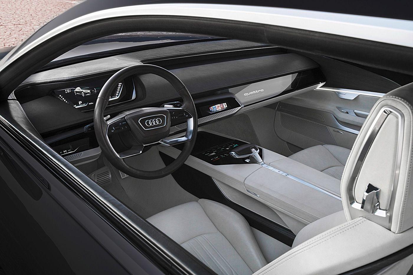 Audi A9 E Tron Audi Prologue On Behance Car Interior Sketch Car Interior Audi Interior