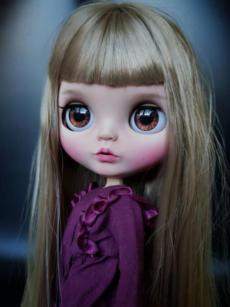 Blythe Custom Doll OOAK Malena, custom blythe, dolls blythe, doll to soul gift, ooak custom blythe,Thanksgiving Day #dollcare