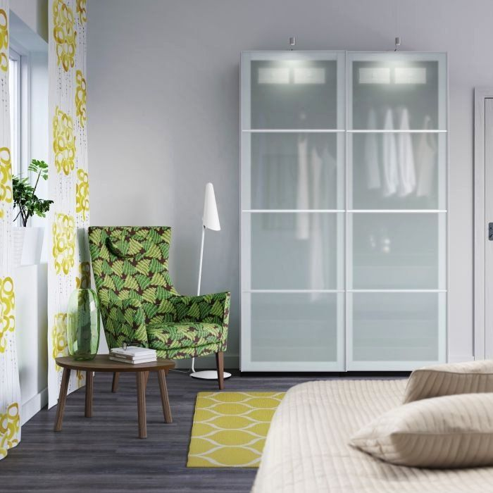 Ikea Living Room Glass Table Unique Pax Wardrobes ...