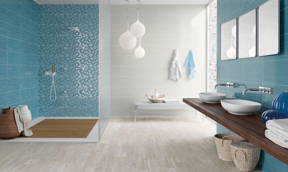 Interni bagno ~ Bagno marrone e turchese fatua for . disegni interni casa nuova