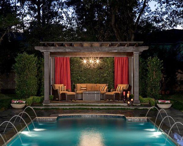 freestanding covered patio pool pergola | patio and house | 1352 ... - Patio Pool Ideas
