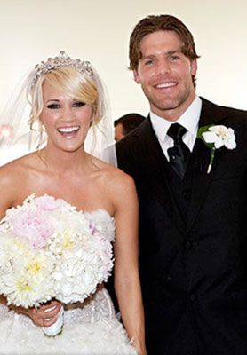 Mr. and Mrs. Mike Fisher Carrie Underwood | Celebrities's weddings ...