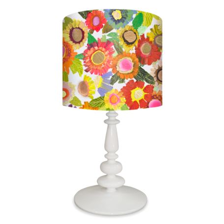 Lamp Shades Near Me Glamorous Beautiful Blooms Floral Lamp Shade  Spider  Oopsy Daisy  Girl Design Ideas