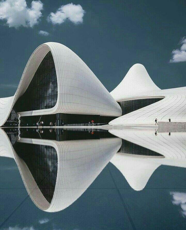 Heydar Aliyev Centre In Baku Zaha Hadid Architects Zaha Hadid Architecture Zaha Hadid Design Zaha Hadid Architects