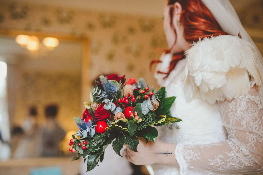Rustic Wintery And Super Freaking Cool Wedding