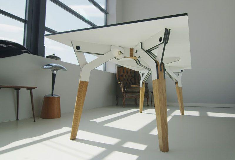 Kataba Table Easily Detachable And Weather Resistant Furniture Multipurpose Furniture Multifunctional Furniture
