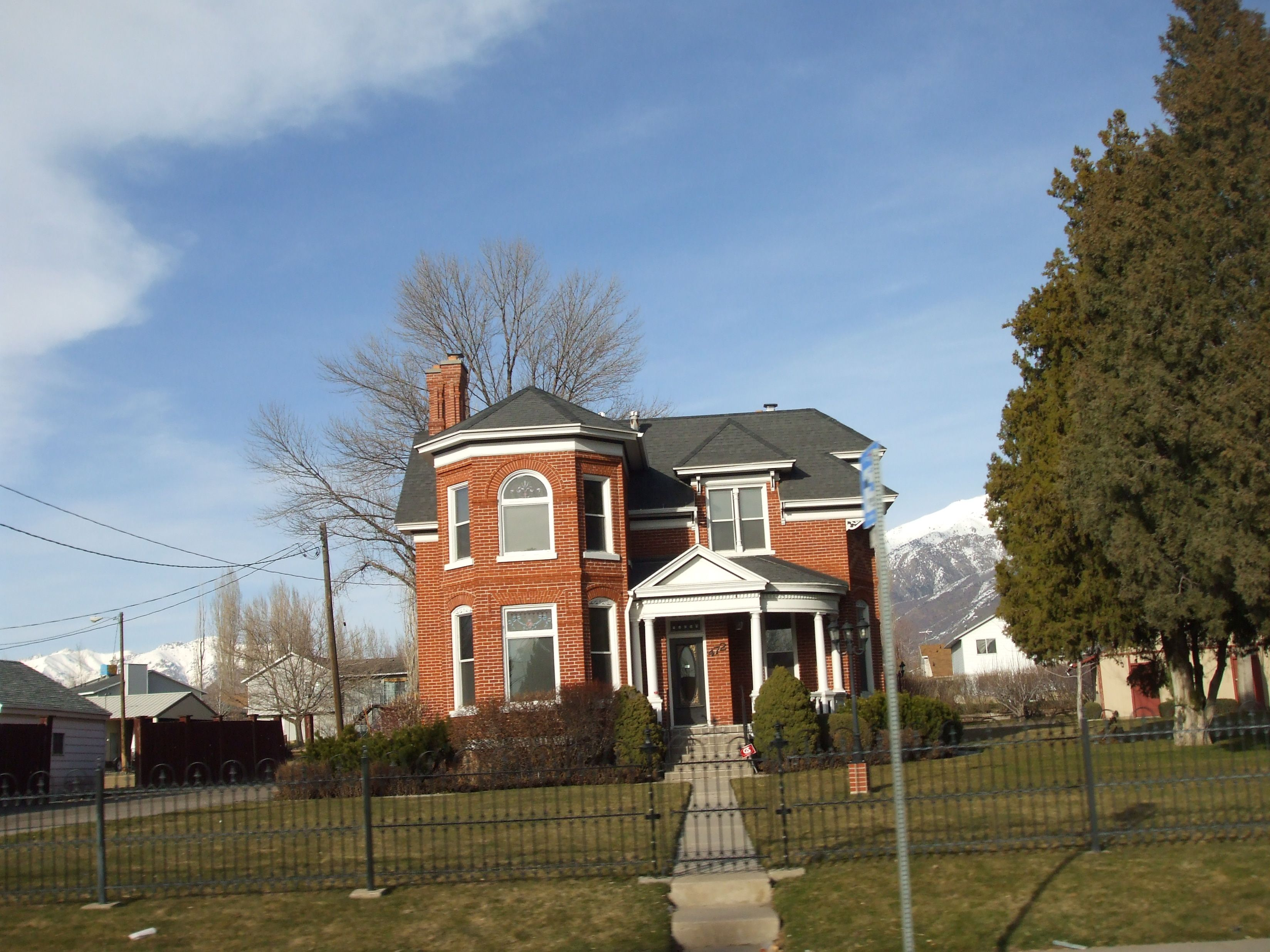 Smith House A Historic Home In Kaysville Utah United States