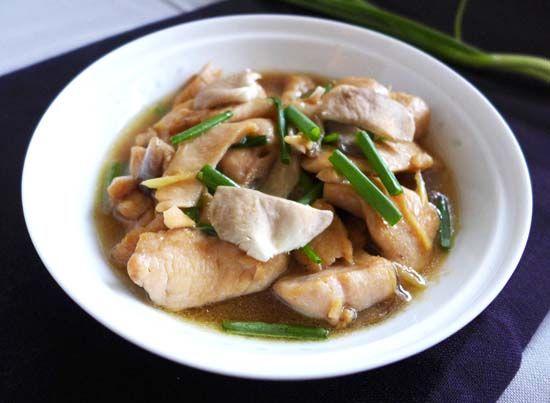 Thai ginger chicken gai pad khing rice sticks international delicious thai food recipe for ginger chicken forumfinder Images