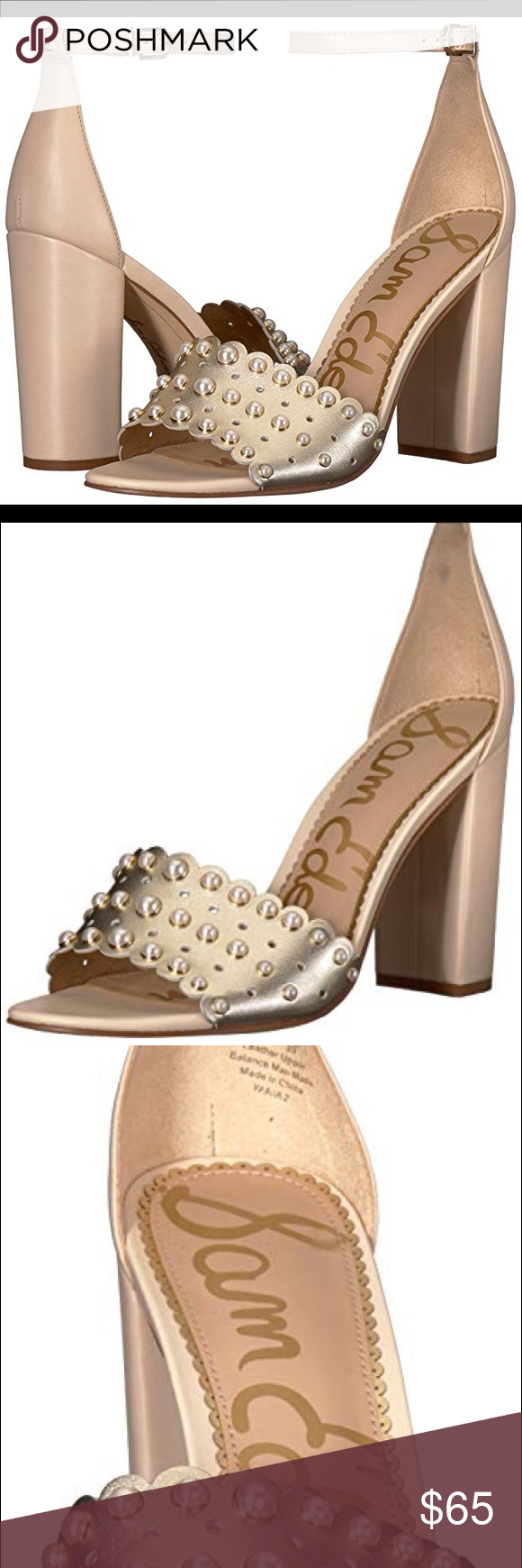 df8863703 Sam Edelman Yaria Studded Block Heel Sandal Add instant edginess to any  outfit with tall
