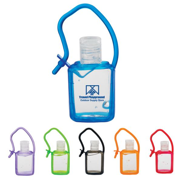 15ml Lightly Scented Hand Sanitizer In Silicone Case Meets Fda